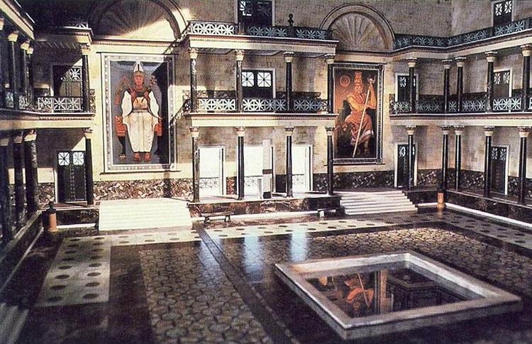 Древняя библиотека