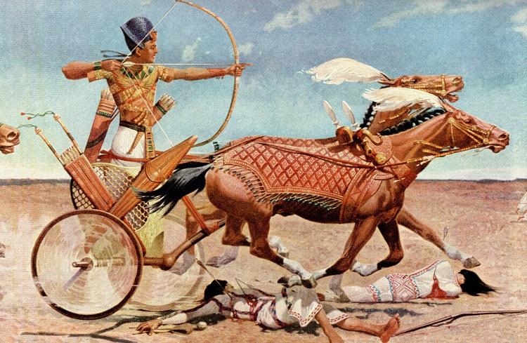 Египет, битва