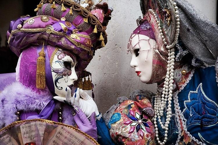 Маски, карнавал, франция