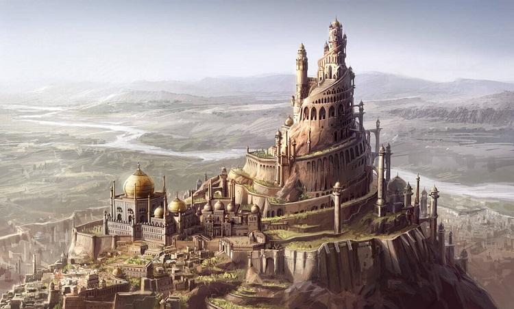 Аламут - замок