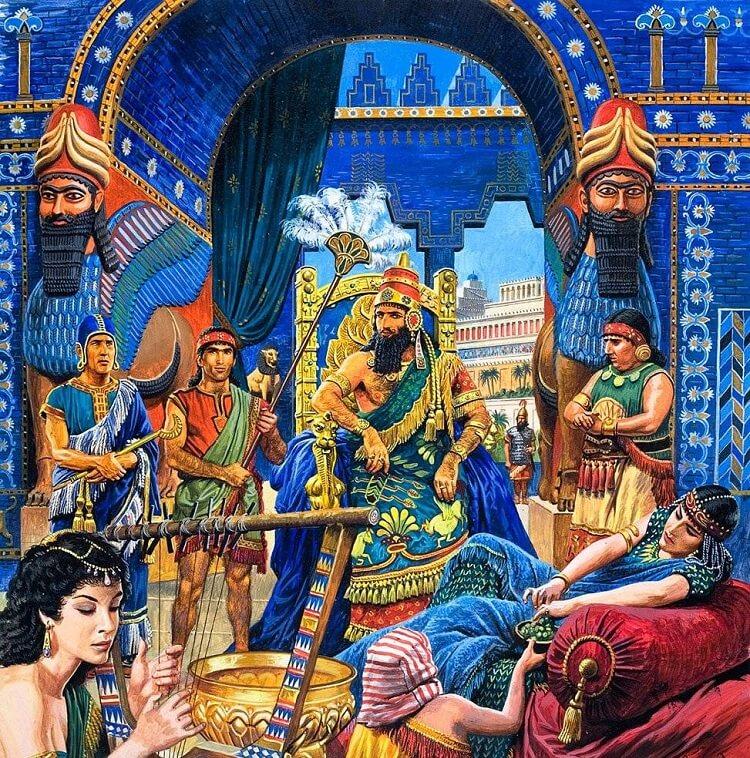 Парфия.Город Ктесифон. Царский дворец. Правление царя Фраата IV