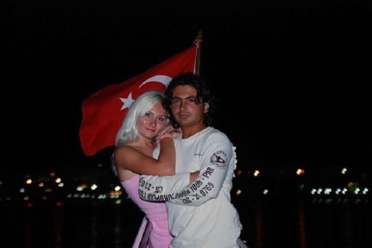 Турок с девушкой славянкой