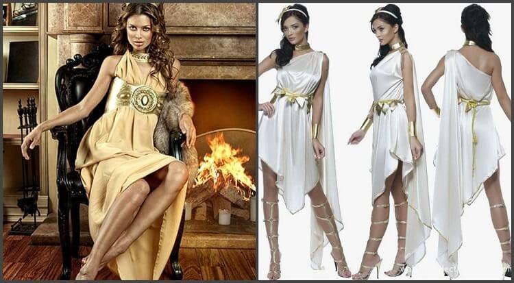 Девушки древней Греции