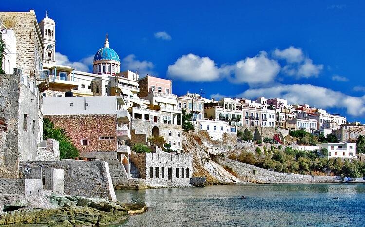 Киклады, Греция
